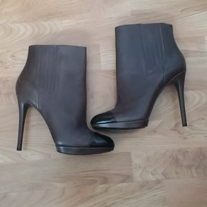 Brian Atwood high heel leather boots size 9.5